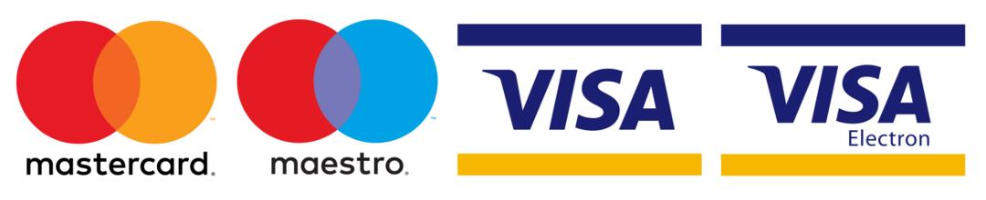 Húnar - card logos