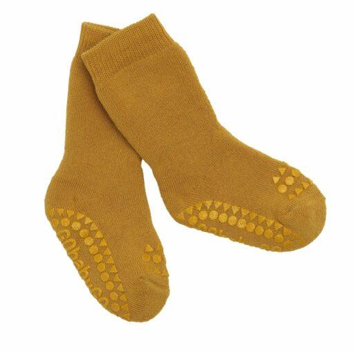Húnar - GoBabyGo Non SlipSocks Mustard ded26a35 a97e 4602 8490