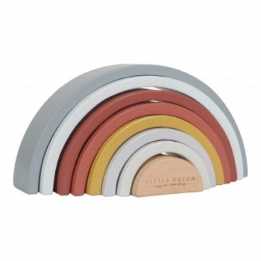 Húnar - Little Dutch LD4701 Holz Regenbogen Rainbow bunt LD4701 8713291447011 01 0