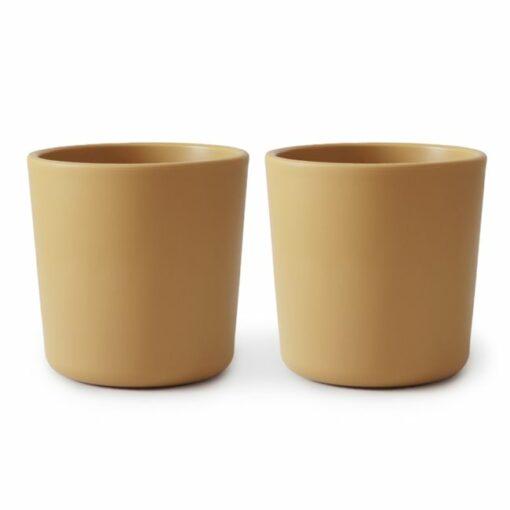 Húnar - 2 pack cups MUSTARD