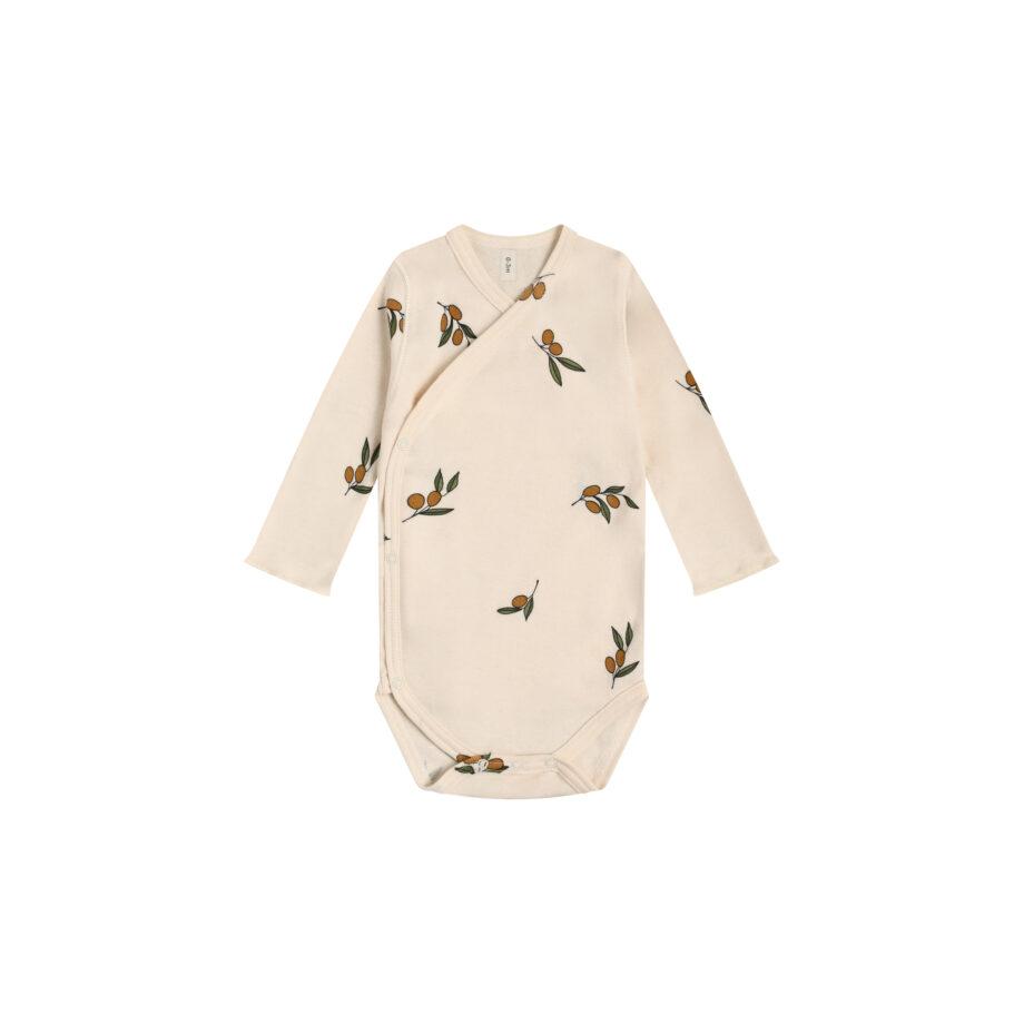 Húnar - Olive Garden Wrapover Bodysuit 2