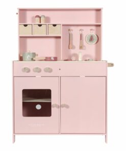 Húnar - 0009534 little dutch toy kitchen pink pink 0