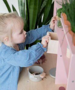Húnar - 0009760 speelkeuken roze