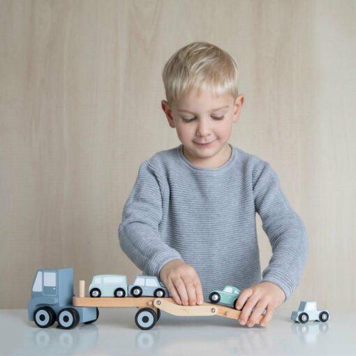 Húnar - 0010709 truck blauw